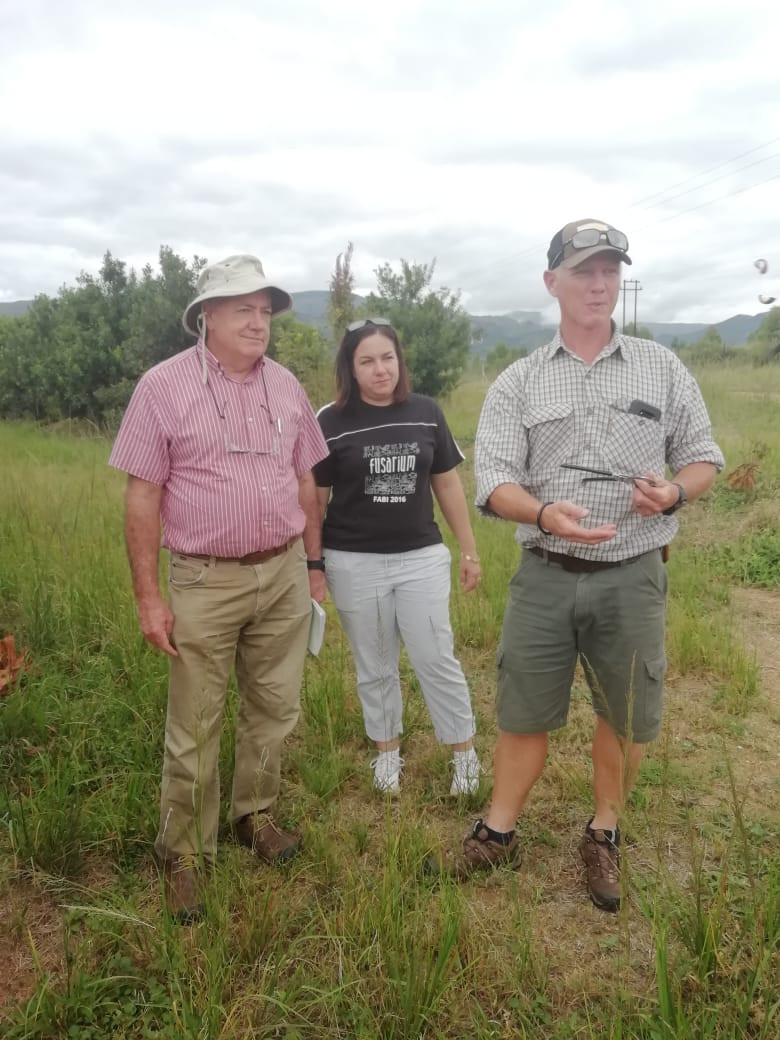 26 March 19 - Dr Wayne Hancock, Dr Gerda Fourie and Ian Williams